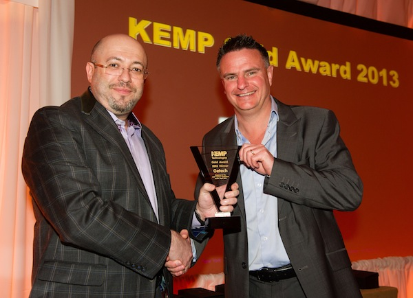 KEMP Inspire conference Awards Dinner at the Westin Hotel in Dublin