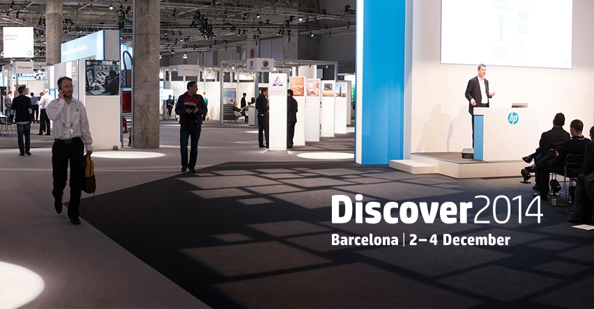 HP Discover – Barcelona 2014