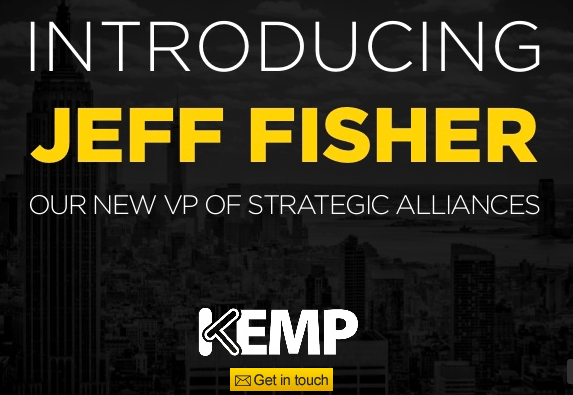 Introducing Jeff Fisher Our New VP of Strategic Alliances