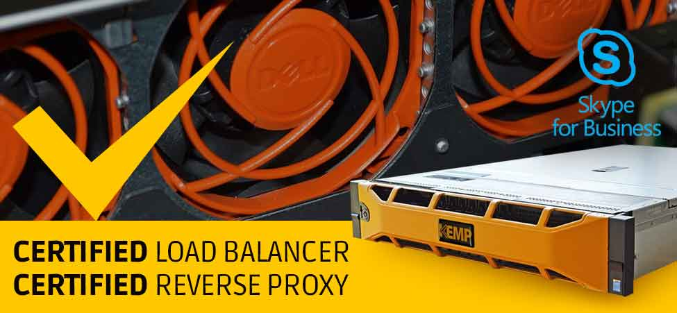 LoadMaster is Certified as a Load Balancer and Reverse Proxy for Skype for Business