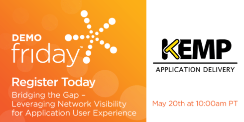 SDN DemoDay – Leveraging Network Visibility for Application User Experience