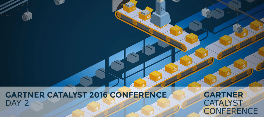 Gartner Catalyst 2016 Conference – Day 2