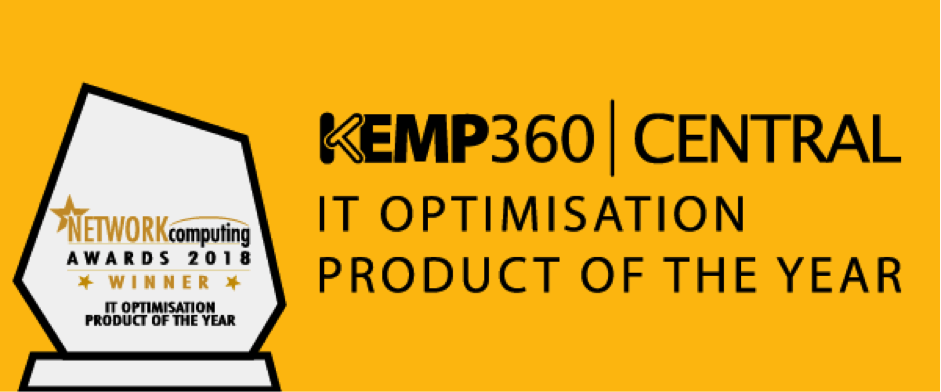 KEMP 360 Awarded IT Optimisation Product of the Year